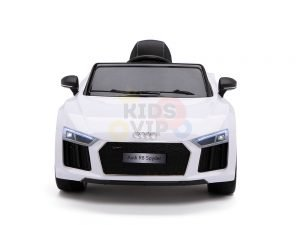 kidsvip audi r8 toddlers kids ride on car 12v white 1
