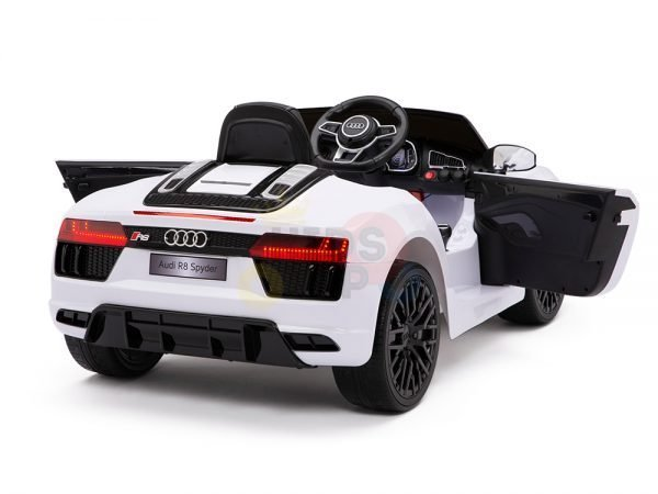 kidsvip audi r8 toddlers kids ride on car 12v white 10