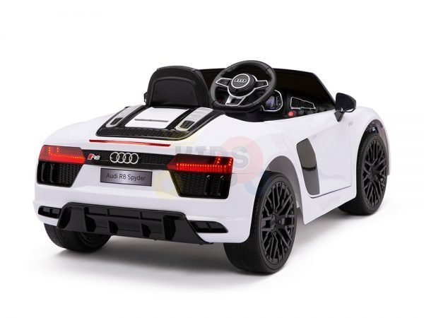 kidsvip audi r8 toddlers kids ride on car 12v white 11