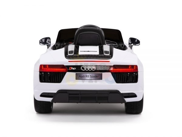 kidsvip audi r8 toddlers kids ride on car 12v white 12