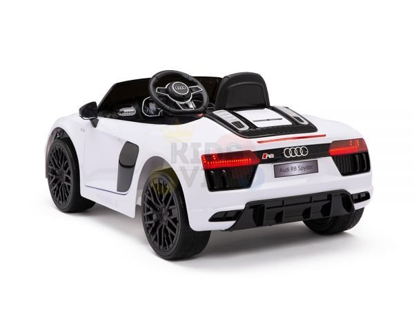kidsvip audi r8 toddlers kids ride on car 12v white 15