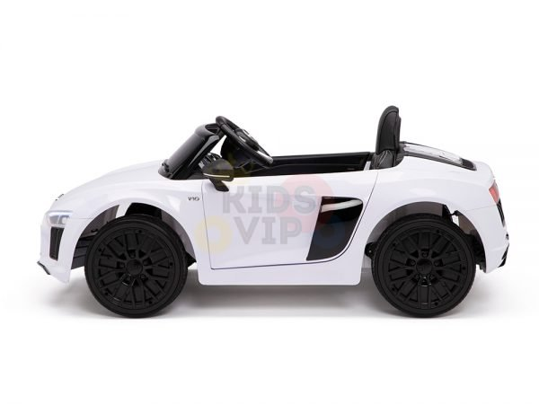 kidsvip audi r8 toddlers kids ride on car 12v white 16