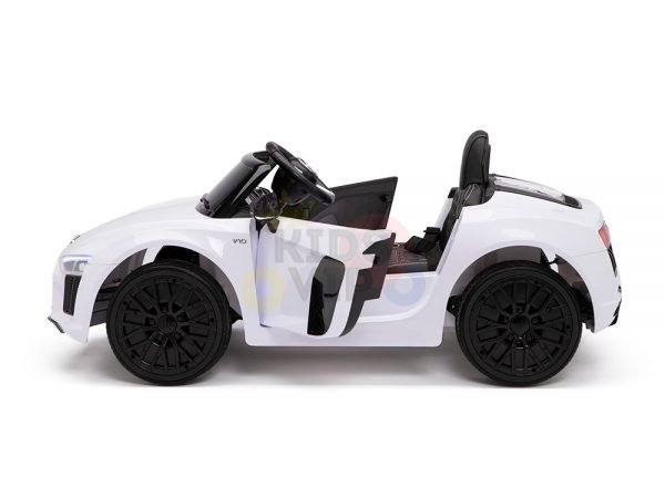 kidsvip audi r8 toddlers kids ride on car 12v white 17