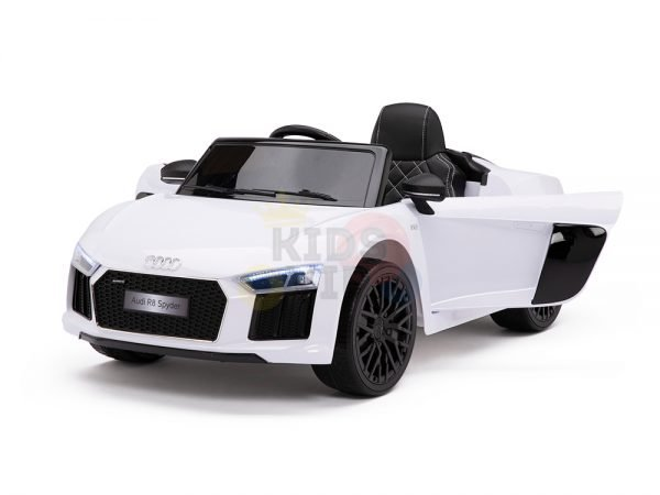 kidsvip audi r8 toddlers kids ride on car 12v white 18