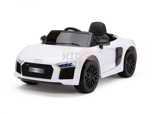 kidsvip audi r8 toddlers kids ride on car 12v white 19