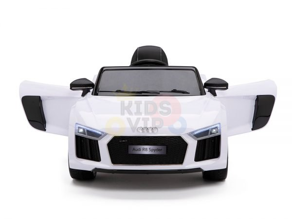 kidsvip audi r8 toddlers kids ride on car 12v white 2