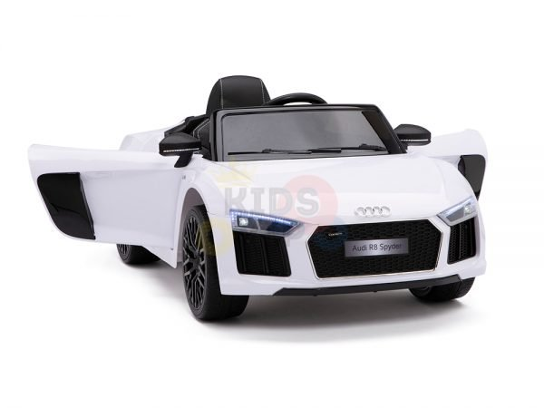 kidsvip audi r8 toddlers kids ride on car 12v white 3