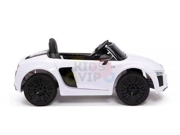 kidsvip audi r8 toddlers kids ride on car 12v white 6