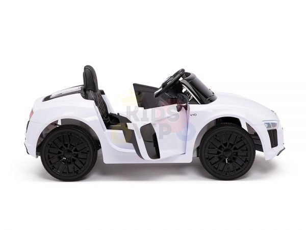 kidsvip audi r8 toddlers kids ride on car 12v white 7