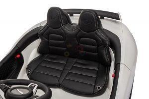 kidsvip jaguar kids and toddlers ride on car 12v white 2 1
