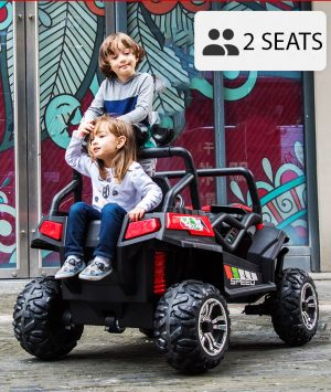 kidsvip luxury utv ride on car buggy 7