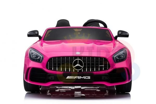 kidsvip mercedes benz gtr 2 seater kids and toddlers ride on car pink 1