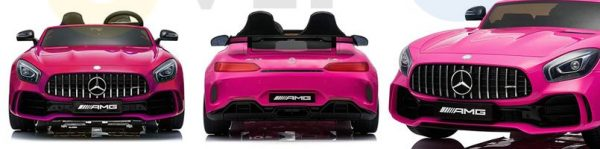 kidsvip mercedes benz gtr 2 seater kids and toddlers ride on car pink 15