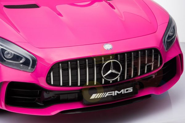 kidsvip mercedes benz gtr 2 seater kids and toddlers ride on car pink 5