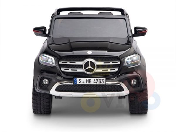 kidsvip mercedes x kids and toddlers ride on car truck 2x12v batteries black 1