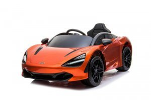 licensed mclaren 720s spyder 12v battery powered kids electric car orange KIDSVIP 1