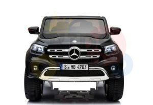 mercedes benz x unimog kids ride on car black 2