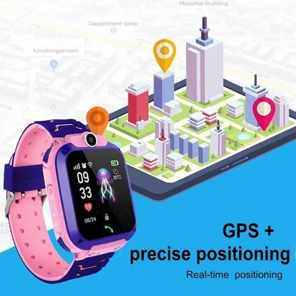 kids vip kids smart watch waterproof gps sos 11