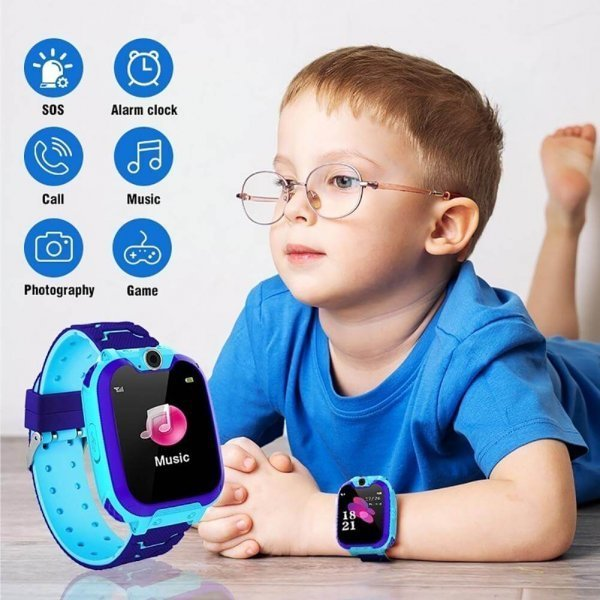 kids vip kids smart watch waterproof gps sos 13