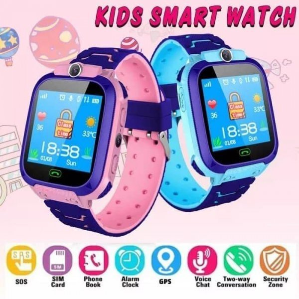 kids vip kids smart watch waterproof gps sos 18