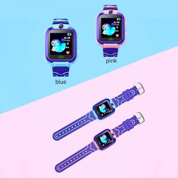 kids vip kids smart watch waterproof gps sos 21