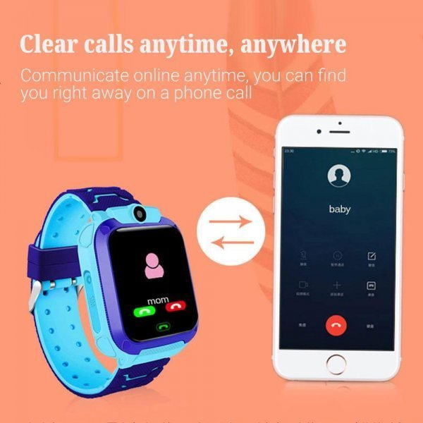 kids vip kids smart watch waterproof gps sos 22