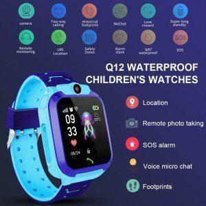 kids vip kids smart watch waterproof gps sos 6