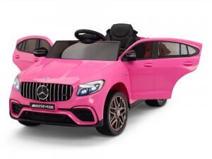 kidsvip mercedes glc63 kids ride on car for kids and toddlers 1 seater pink www.kidsviponline 27