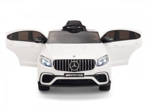 kidsvip mercedes glc63 kids ride on car for kids and toddlers 1 seater white www 23