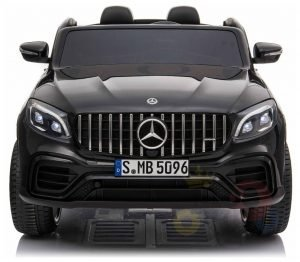 KIDSVIP 2SEAT 2 SEAT KIDS AND TODDLERS RIDE ON MERCEDES GLC BLACK 4 1