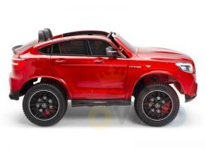 KIDSVIP 2SEAT 2 SEAT KIDS AND TODDLERS RIDE ON MERCEDES GLC red 1
