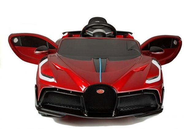 eng pl Electric Ride On Car Bugatti Divo Red Painted 4433 2