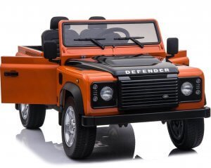 licensed land rover defender 24v 4wd ride on orange9