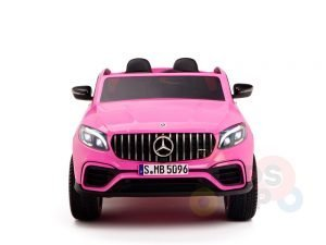 KIDSVIP 2SEAT 2 SEAT KIDS AND TODDLERS RIDE ON MERCEDES GLC pink 2