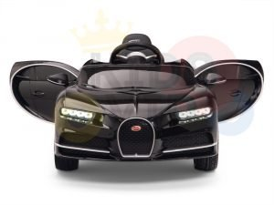 KIDSVIP BUGATTI CHIRON RIDE ON KIDS TODDLERS CAR BLACK 1