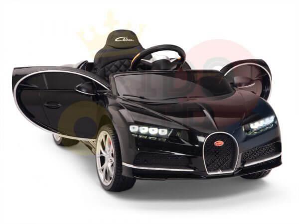 KIDSVIP BUGATTI CHIRON RIDE ON KIDS TODDLERS CAR BLACK 21
