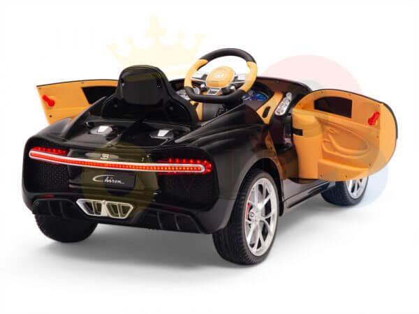 KIDSVIP BUGATTI CHIRON RIDE ON KIDS TODDLERS CAR BLACK 6