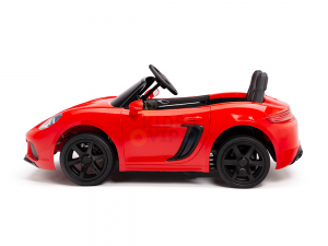 KIDSVIP XXL RIDE ON CAR FOR BIG KIDS 24V 180W RUBBER WHEELS LEATHER SEAT red 66