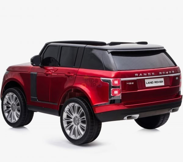 Licensed 24V Range Rover Vogue HSE Ride On Jeep RED2 1 scaled