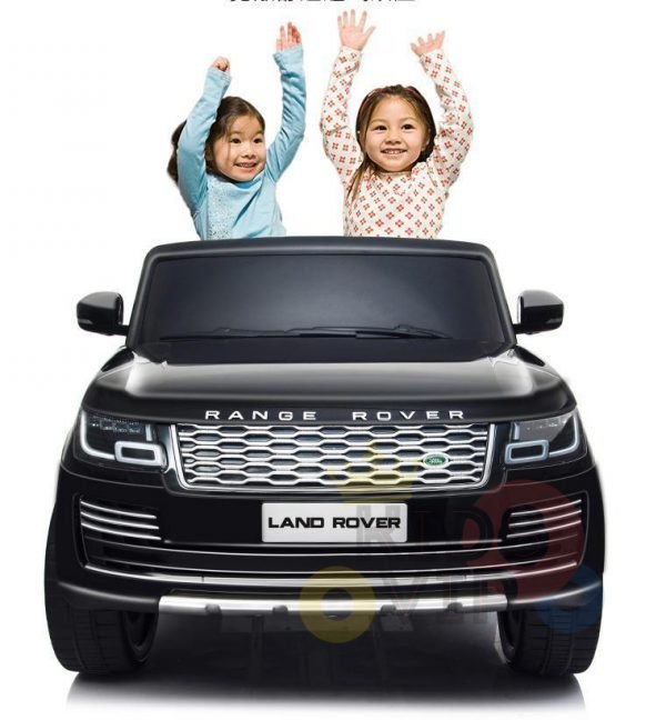 RANGE ROVER 2 SEAT RIDE ON CAR KIDSVIP BLACK 17