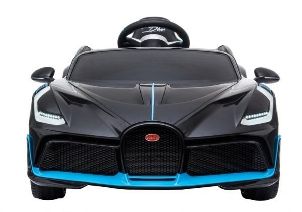 eng pl Electric Ride On Car Bugatti Divo Black Painted 4432 2