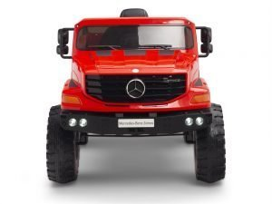 kids vip 12 mercedes benz zetros red ride on car 1