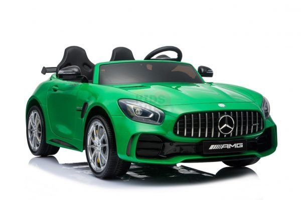 kidsvip mercedes benz gtr 2 seater kids and toddlers ride on car green 6