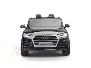 KIDSVIP 2 Seater 24v ride on car audi for kids and toddlers remote black 1