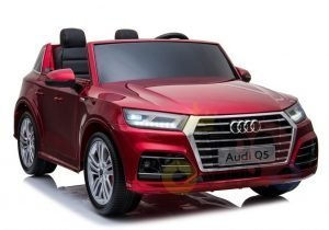 KIDSVIP 2 Seater 24v ride on car audi for kids and toddlers remote red 1