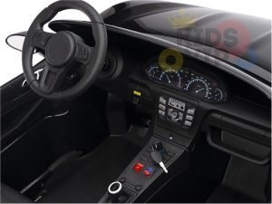 KIDSVIP XXL RIDE ON CAR FOR BIG KIDS 24V 180W RUBBER WHEELS LEATHER SEAT black 16 1