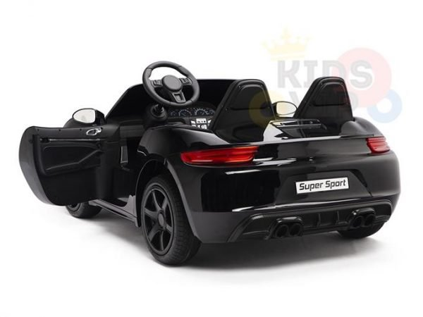KIDSVIP XXL RIDE ON CAR FOR BIG KIDS 24V 180W RUBBER WHEELS LEATHER SEAT black 22