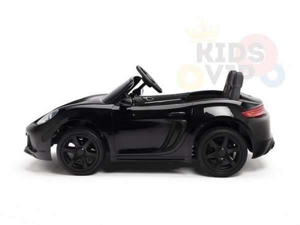 KIDSVIP XXL RIDE ON CAR FOR BIG KIDS 24V 180W RUBBER WHEELS LEATHER SEAT black 24