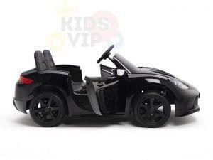 KIDSVIP XXL RIDE ON CAR FOR BIG KIDS 24V 180W RUBBER WHEELS LEATHER SEAT black 8