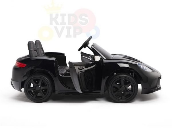 KIDSVIP XXL RIDE ON CAR FOR BIG KIDS 24V 180W RUBBER WHEELS LEATHER SEAT black 8